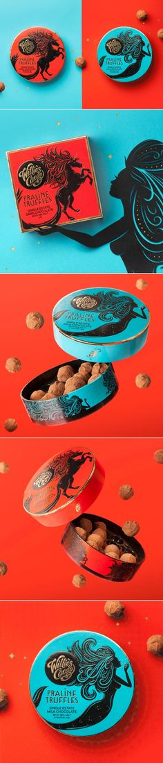 These Boldly Packaged Truffles Are Nothing But Pure Magic — The Dieline | Packaging & Branding Design & Innovation NewS