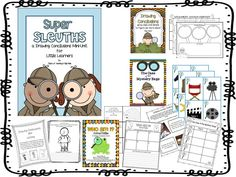 Super Sleuths {A Drawing Conclusions Mini-Unit}