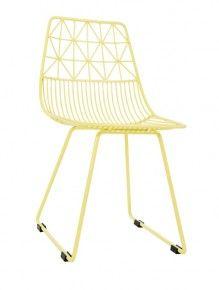 Small Metal Yellow Chair by Sebra - Kidsen Dream Furniture, Kids Furniture, Furniture Design, Adairs Kids, Cute Little Things, Metal Chairs, Kid Spaces, Beautiful Children, Kids Room