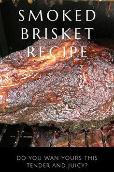 (9) Pinterest How To Cook Brisket, Beef Brisket Recipes, Bbq Brisket, Smoked Beef Brisket, Smoked Meat Recipes, Bbq Beef, Brisket Recipe Smoker, Brisket On The Grill, Best Smoked Brisket Recipe