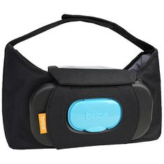 You will never have to wipe a runny nose with a sleeve again thanks to the built-in wipes dispenser of the smartly designed Brica Stroller Organizer Plus; $19.