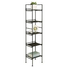"Organize It All 46.625"" Accent Shelves Bookcase"