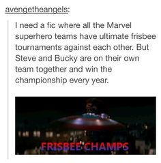 Bucky and Steve: Ultimate Frisbee Champs