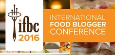 The 2016 International Food Blogger Conference will be July 29 - 31 in Sacramento, California, considered the Farm-to-Fork Capital of America. Registration is open now and we're offering TWO fantastic early-bird specials!  --Get $100 off now through September 30 (discount code EARLY)!