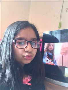 Hi this is me and my best friend ever and if you can see this photo this is to you jazzy we are your biggest fans