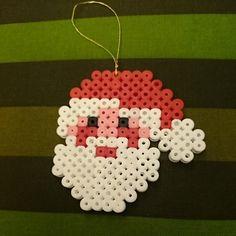 Christmas Santa hama beads by penelope_glamour72