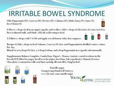 Young Living Essential Oils: Irritable Bowel Syndrome IBS: