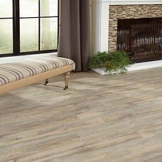 Costco Vinyl Golden Arowana Plymouth Gray Hdpc Waterproof Plank Flooring Luxury Tile