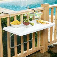 Повесной столик для балкона