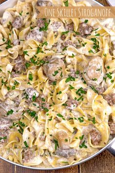 Here's a quick and easy recipe for ground beef stroganoff that requires no condensed cream soup.