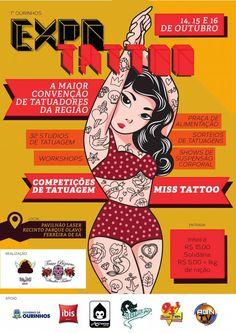 1º Ourinhos Expo Tattoo | Tattoo Filter
