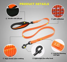 Truelove Nylon Dog Pet Leashes Lead Running Walking Reflective With Soft Handle Leash For Dogs Supplies Dog Pet Dogs, Pets, Animals Of The World, Dog Leash, Dog Supplies, True Love, Real Love, Dogs, Dog Accessories