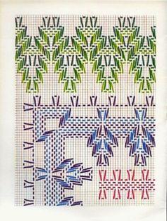 Layette Cross Stitch by Nubia Cortinhas: Vagonite Cross Stitching, Cross Stitch Embroidery, Hand Embroidery, Cross Stitch Designs, Cross Stitch Patterns, Swedish Weaving Patterns, Swedish Embroidery, Monks Cloth, Drawn Thread