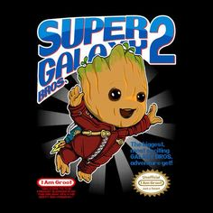 Super Galaxy Bros Groot Guardians Of The Galaxy