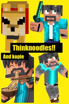 thinknoodles minecraft mini games with friends