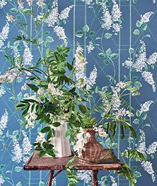 Marie Print - Leaf | Kravet Bedroom Color Schemes, Bedroom Colors, Chinese Flowers, Maine Cottage, Cole And Son, Fabric Houses, New Home Designs, Tapestry Weaving, Home Furnishings