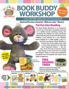 c3cd655061fe Noah's Ark Animal Workshop is a mobile teddy bear workshop, where kid's  bring their beary own stuffed animal to life. Our teddy bear workshop is  perfect