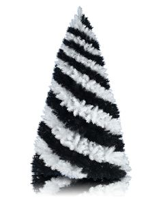 zebra print christmas tree I NEED THIS TREE!!!!!!