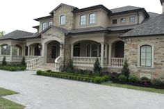 Exteriors Gallery Cribbs, Custom Builders, House Paint Exterior, Earth Tones, House Painting, Future House, Beautiful Homes, House Design, French