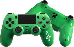 Minecraft inspired Custom PlayStation 4 Controller #PS4 #Sword…