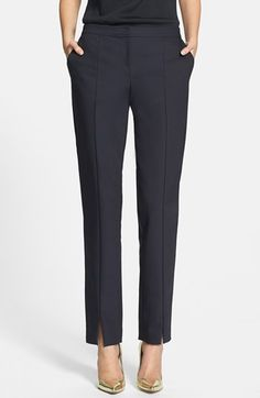 St. John Collection 'Jennifer' Scuba Ankle Pants available at #Nordstrom