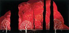Blazing Forest - Eyvind Earle