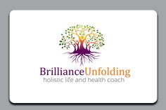 Redesign logo for Brilliance Unfolding holistic life and health coach .http://brillianceunfolding.com/, https://www.facebook.com/brillianceunfolding