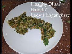 bhindi fry recipe | bhindi ki sabzi | bhindi masala dry | how to make okra fry recipe|Healthy recipe - YouTube