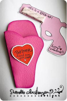 Valentine's Day: Partner, hand over your heart! This is a stick up.