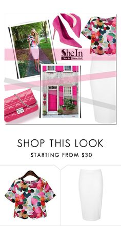 """""""Untitled #482"""" by katienochvay ❤ liked on Polyvore featuring Glamorous and Christian Dior"""