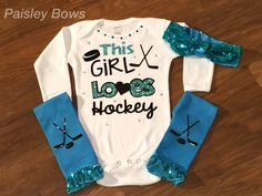 A personal favorite from my Etsy shop https://www.etsy.com/listing/460008926/hockey-girl-outfit-this-girl-loves