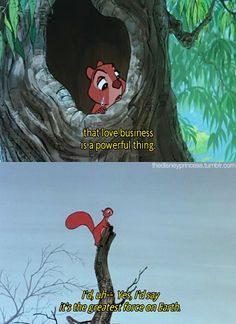 "I always felt so sorry for this poor squirrel in ""Sword in the Stone"""