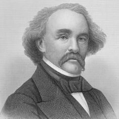 Author Nathaniel Hawthorne is best known for his novels 'The Scarlet Letter' and 'The House of Seven Gables,' and also wrote many short stories. Nathaniel Hawthorne Quotes, House Of Seven Gables, Writing Studio, The Scarlet Letter, Short Stories, Biography, Famous People, Einstein, Novels