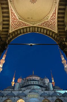 "Blue Mosque, Istanbul, Turkey... | ""Sky"" by Dmitry Shakin on Flickr"