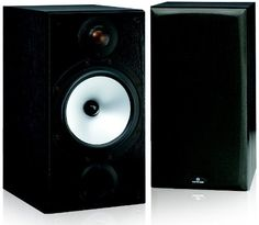 "Monitor Audio MR2 2-Way Bookshelf Speaker, Pair (Black Oak Vinyl Wrap) by Monitor. $328.00. An evolution of the multi-award winning BR2, the MR2 tunes the considerable talents of its forerunner to a new intensity. Improved crossover and driver designs combine to re-calibrate the capabilities of an acknowledged class champion, bringing greater dynamic expression, mid-range clarity and lower distortion to lovers of music and film sound. Loaded with a 6.5"" MMP II bass..."