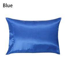 1 pc 50*76cm Solid Color Soft Pure Mulberry Silk Pillow Case Washable Colorful Pillowcase Cover Housewife Queen Standard