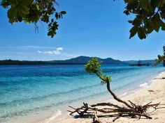 Hulaliu Beach at Haruku Island Maluku