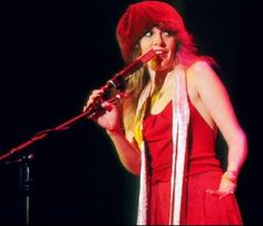 The eyes of Stevie Nicks