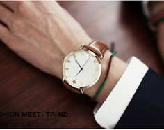 Leather Strap Watch - Good Time Watches   YESSTYLE