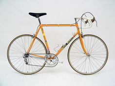 When I was a kid Eddy Merckx's racing bike was as fast as I could imagine. I rode around on my iron Raleigh pretending I held the yellow jersey in the Tour de France. The bike still looks quick, purposeful and beautiful to my eyes today.