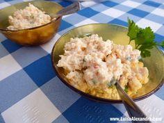 Patê de Delícias do Mar em forma de Lagosta - http://gostinhos.com/pate-de-delicias-do-mar-em-forma-de-lagosta/