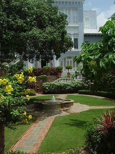 Garden of La Fortaleza