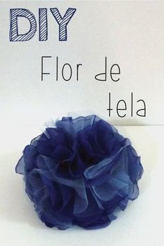 DIY - Flor De Tela Con Video. Tutorial paso a paso de este accesorio so Carrie | Me Compre Un Buda
