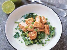 Lax med grön curry | Recept från Köket.se