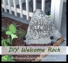 Add A Welcome Rock - 150 Remarkable Projects and Ideas to Improve Your Home's Curb Appeal