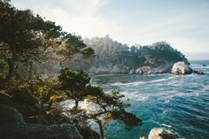 Point Lobos is one of the hidden gems of the California coast. Located just off of Route 1 right after Monterey, Point Lobos is a state park on the coast.