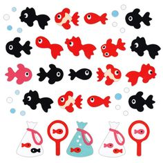Beautiful Japanese Stickers Fish S171 by FromJapanWithLove on Etsy