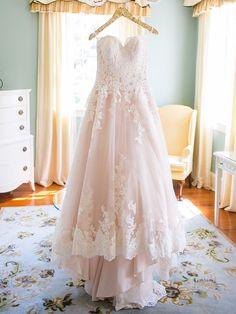 28 Gorgeous Blush and Light Pink Wedding Dresses | TheKnot.com