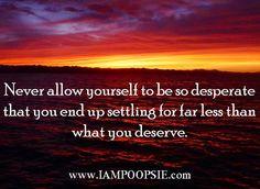 Wise advice quote via www.IamPoopsie.com
