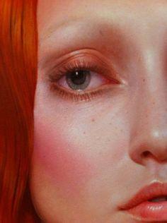 the world's strangest redhead, Kris Lewis